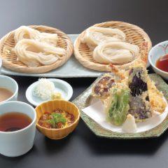 天ぷら付き 二種三味うどん(冷) 1,730円