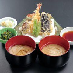 天ぷら付き 味比べ(温) 1,620円